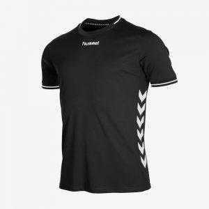 Hummel Lyon sportshirt uni zwart