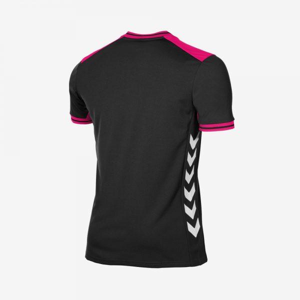 Afbeelding Hummel Lyon shirt uni zwart roze