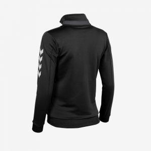 Afbeelding Hummel Valencia Jacket Full Zip trainingsjas zwart antracite