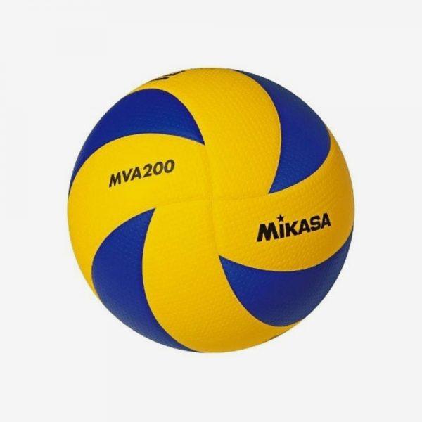 Afbeedling Mikasa volleybal geel blauw