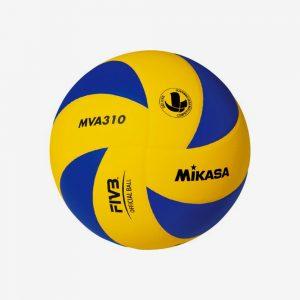 Afbeelding Mikasa volleybal geel blauw