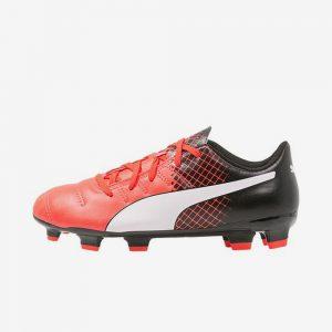 Afbeelding Puma evopower fg junior voetbalschoenen rood zwart