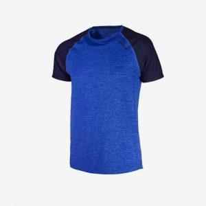 Afbeelding Rogelli runnin t-shirt balaton hardloopshirt voorkant heren blauw