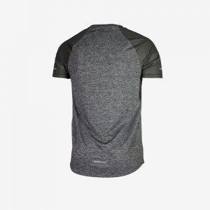 Afbeelding Rogelli runnin t-shirt balaton hardloopshirt achterkant heren grijs