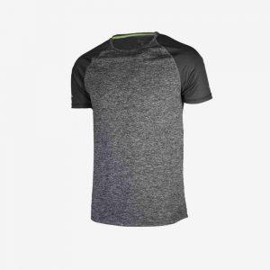 Afbeelding Rogelli runnin t-shirt balaton hardloopshirt voorkant heren grijs