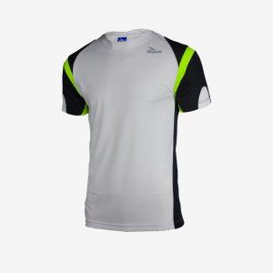 Afbeelding Rogelli Running T-shirt Dutton hardloopshirt heren wit