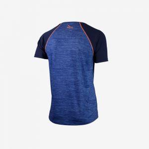 Afbeelding Rogelli Running T-shirt Structure hardloopshirt achterkant heren blauw
