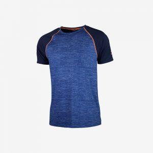 Afbeelding Rogelli Running T-shirt Structure hardloopshirt voorkant herenblauw