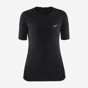 Craft cool intensity shirt korte mouw voorkant dames zwart
