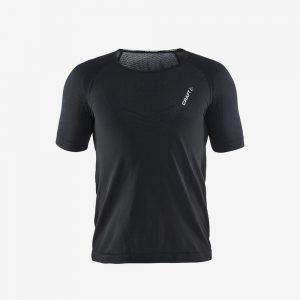 Craft cool intensity shirt korte mouw voorrkant heren zwart