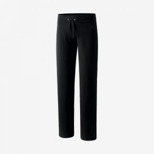 Erima Basic sweat pant joggingbroek voorkant dames zwart