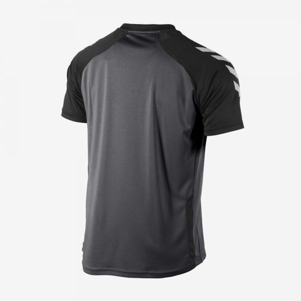 Hummel Aarhus shirt voorkant sportshirt zwart