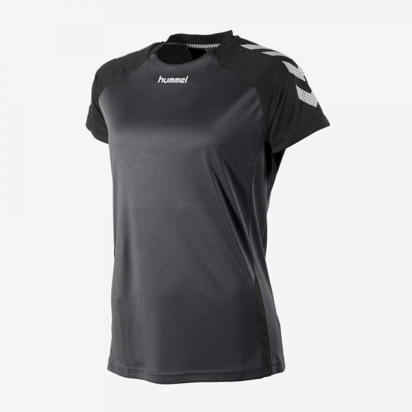 Hummel Aarhus shirt sportshirt voorkant dames zwart