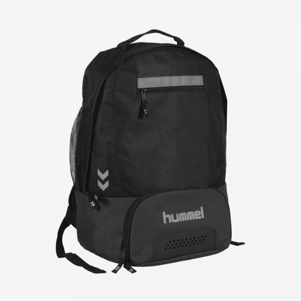 Hummel Leeston backpack rugzak sporttas zwart
