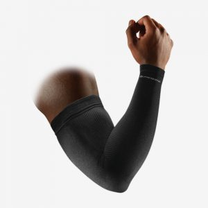 Mc David Elite compressie arm sleeves zwart