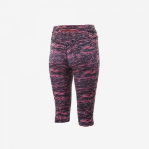 Rogelli Running Capri Joy hardloopbroek achterkant dames roze