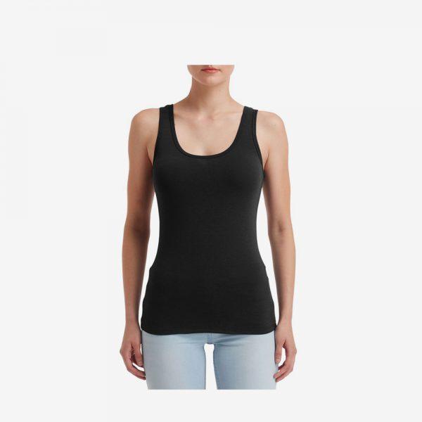 Afbeelding Anvil tanktop stretch dames zwart