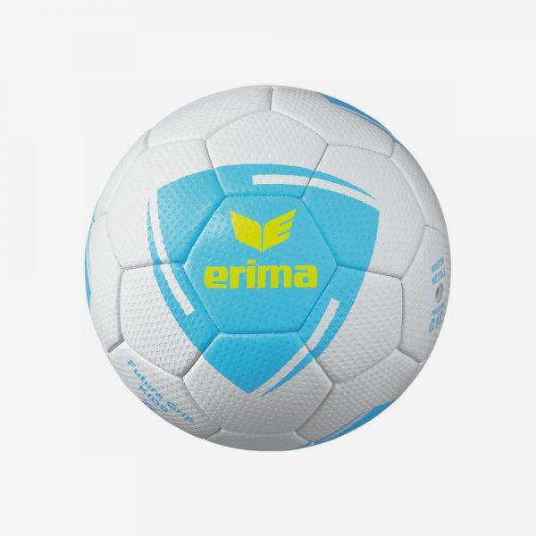 Erima Future Grip Kids handbal wit lichtblauw geel
