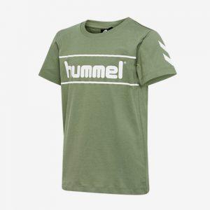 Hummel Jaki T-shirt voorkant legergroen