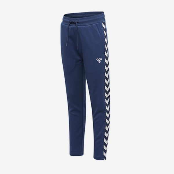 Hummel Kick Pants trainingsbroek voorkant marine