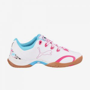 Puma Vribant V Tricks Dames Indoorschoenen wit