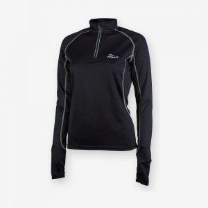Afbeelding Rogelli Crane Running top Hardloopshirt voorkant zwart