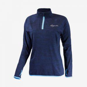 Afbeelding Rogelli Running top Hardloopshirt bright voorkant dames blauw