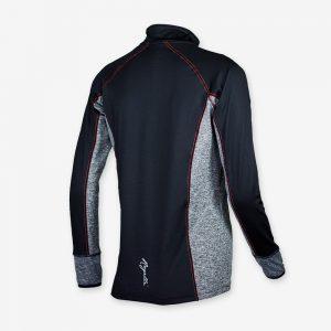 Afbeelding Rogelli Running Top hardloopshirt Maura achterkant dames zwart
