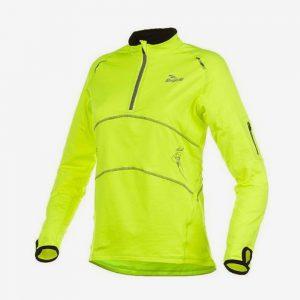 Afbeelding Rogelli Mae Runningtop hardloopsweater dames geel