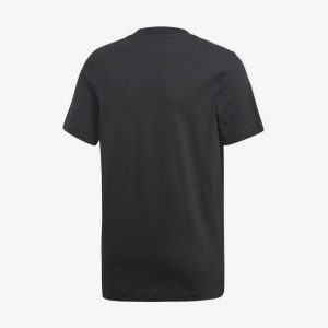 Afbeelding Adidas Essentials 3-stripes t-shirt sportshirt heren achterkant zwart