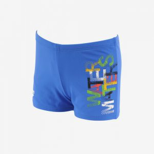 Afbeelding Arena Colourfull Youth Short zwembroek blauw