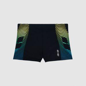 Afbeelding Arena Espiral Jr short zwembroek voorkant zwart