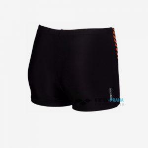 Afbeelding Arena Urban short zwembroek junior zwart achterkant