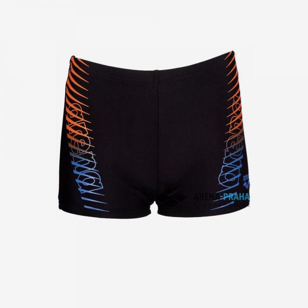 Afbeelding Arena Urban short zwembroek junior zwart voorkant