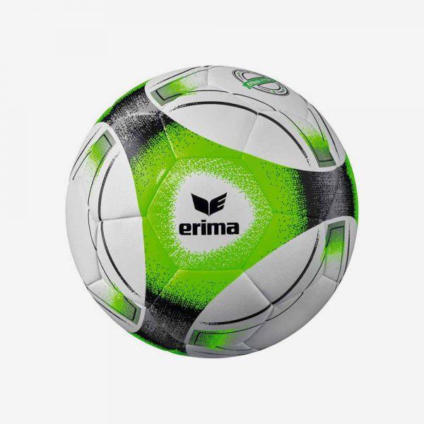 Afbeelding Erima Hybrid trainingsvoetbal zwart grijs groen