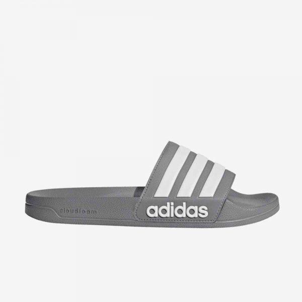 Adidas Adilette douche slippers grijs