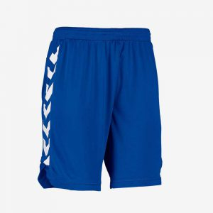 Afbeelding Hummel Burnley Short sportbroek heren junior blauw