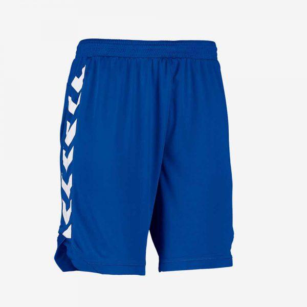 Afbeelding Hummel Burnley Short sportbroek heren junior blauw