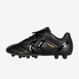 Afbeelding Hummel Nappa Nero FG zijkant links voetbalschoenen zwart