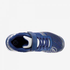Afbeelding Kempa attack three contender junior handbalschoenen klittenband bovenkant blauw wit