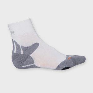 Afbeelding Rogelli running socks hardloopsokken wit grijs