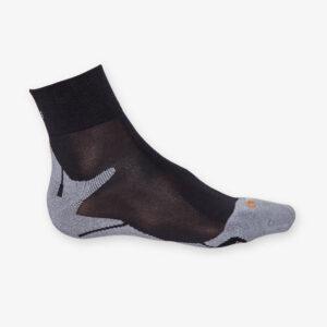 Afbeelding Rogelli running socks hardloopsokken zwart grijs
