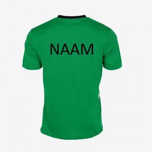 Afbeelding Hummel Valencia sportshirt achterkant hv borger groen