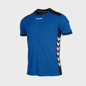 Hummel Lyon sportshirt junior blauw