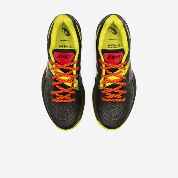 Afbeelding Asics Blast FF dames handbalschoenen zwart geel