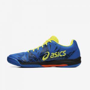 Afbeelding Asics Gel-Fastball 3 handbalschoen heren blauw zwart links