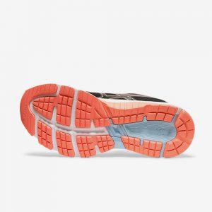 Afbeelding Asics GT-1000 8 hardloopschoenen dames zwart roze