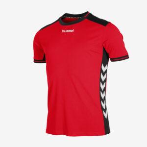 Hummel Lyon sportshirt junior rood
