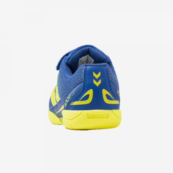 Afbeelding Hummel Root jr 3.0 LC handbalschoen klittenband sluiting junior blauw