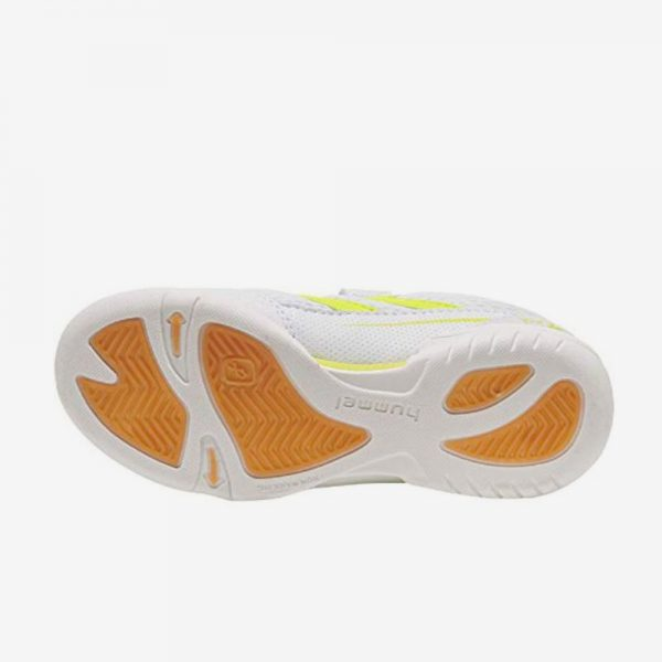 Afbeelding Hummel Root jr 3.0 LC handbalschoen klittenband sluiting junior wit